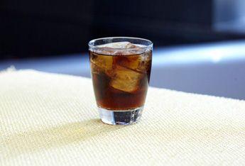 Black Cherry Vodka & Cola with Smirnoff® Black Cherry Flavored Vodka