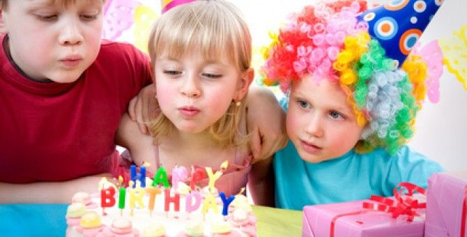 Top 5 Birthday Party Ideas for Kids