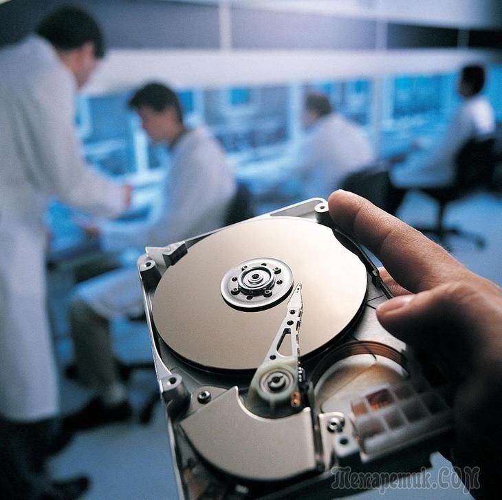 Восстановление удаленных данных с жесткого диска и внешнего носителя