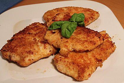 Parmesan Hähnchen aus dem Backofen
