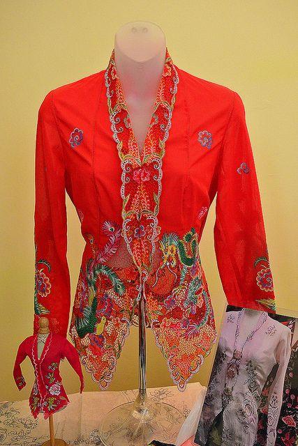 Nonya Kebaya Embroidery #2 by chooyutshing, via Flickr