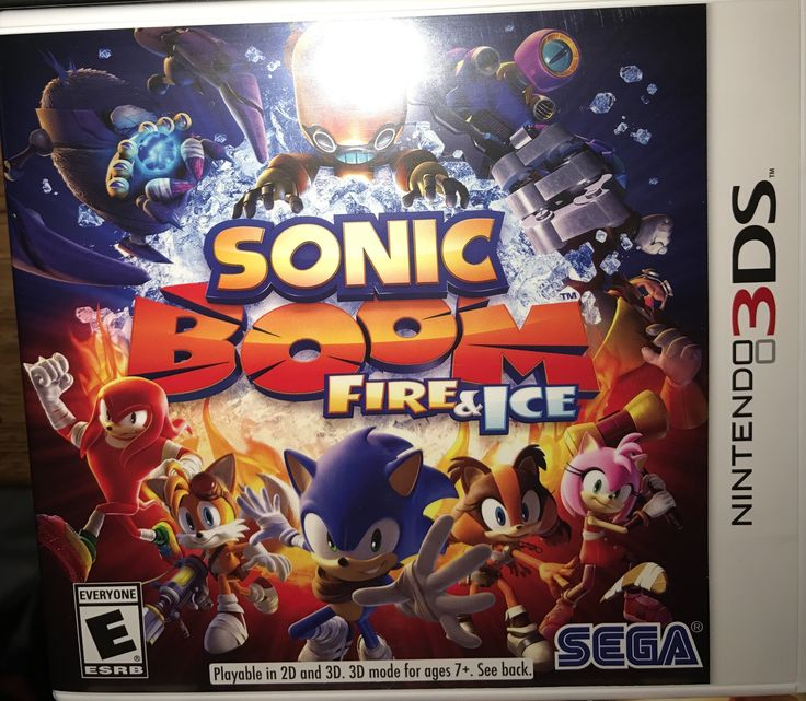 Nintendo 3DS sonic boom fire & ice
