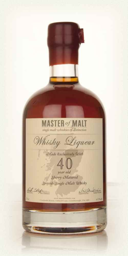 Master of Malt 40 Year Old Speyside Whisky Liqueur