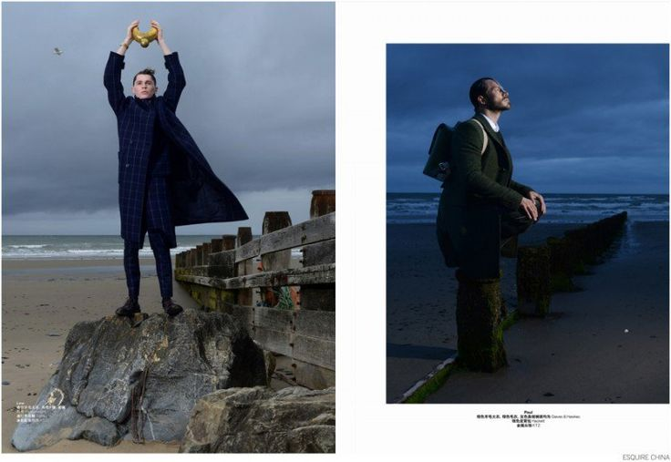 Paul Sculfor + Lew Parker Travel Across Space & Time for Esquire China image Esquire China Fashion Editorial 002 800x552