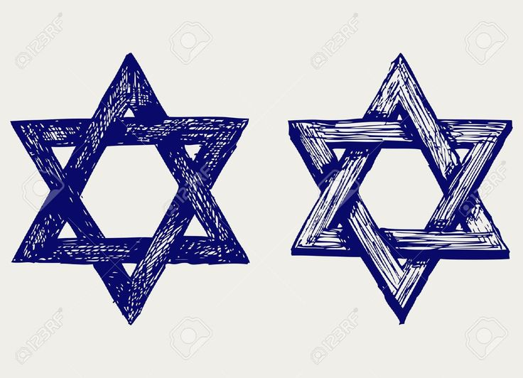 Religión Judaica. Estilo Doodle Ilustraciones Vectoriales, Clip Art Vectorizado Libre De Derechos. Image 15868977.