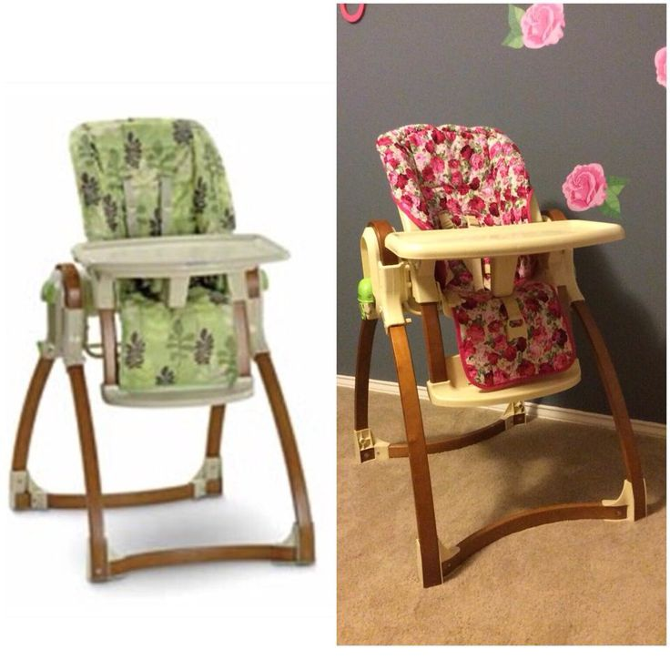 Repurposed High Chair From My Son To My Daughter Diy