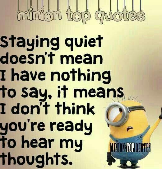 Haha #MinionQuotes