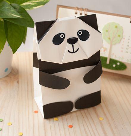 熊貓包裝紙袋---產品圖