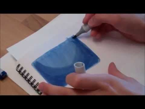 how to draw a night sky in pencil