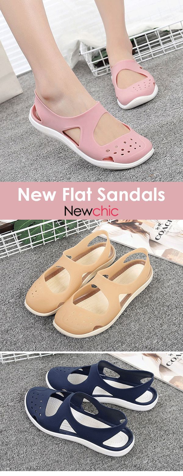 【58% off】Women Casual Beach Hollow Out Jelly Flat Sandals.#shoes #summeroutf… – karlaholz