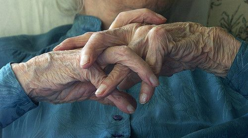How many babies held, children bathed, meals cooked, beds made, clothes washed, gardens tended, fevers checked, mending done, other hand's held, cleaning done…old hands are just beautiful…
