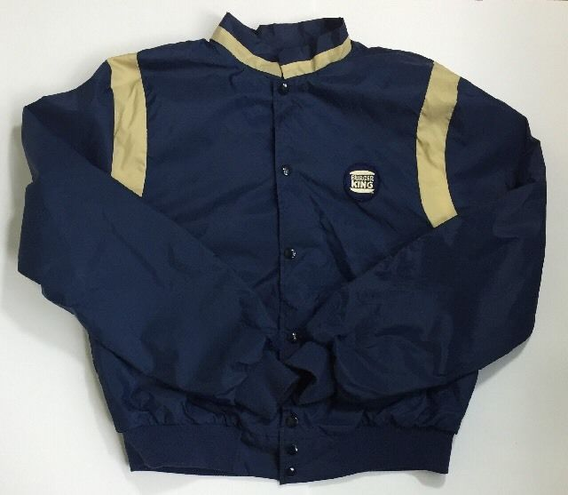 Have It Your Way Vintage Burger King Jacket With Logo