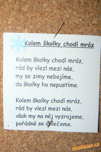Blíží se vánoce a tak jistě se budou chtít děti naučit pěkné vánoční básničky.<br>Dcera se jich ve š...