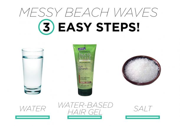 How to Get the Perfect Messy Beach Waves