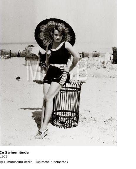 Marlene Dietrich ~ 1926 Swinemunde