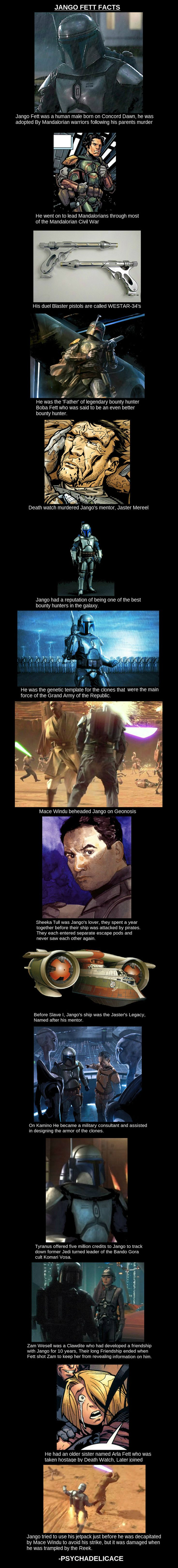 Jango in a whole new light. But I knew all of these already