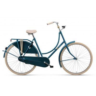 Rower Miejski Damski Batavus Old Dutch DR. Połączenie klasycznego piękna wraz ze współczesnością tylko dla kobiet o nietuzinkowej osobowości. http://damelo.pl/damskie-rowery-miejskie-stylowe/772-rower-miejski-damski-batavus-old-dutch.html