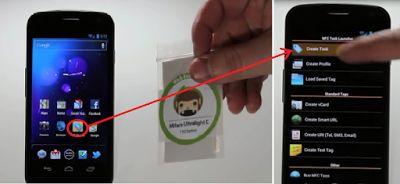 Cara Memprogram NFC Tag Dengan Aplikasi NFC Task Launcher