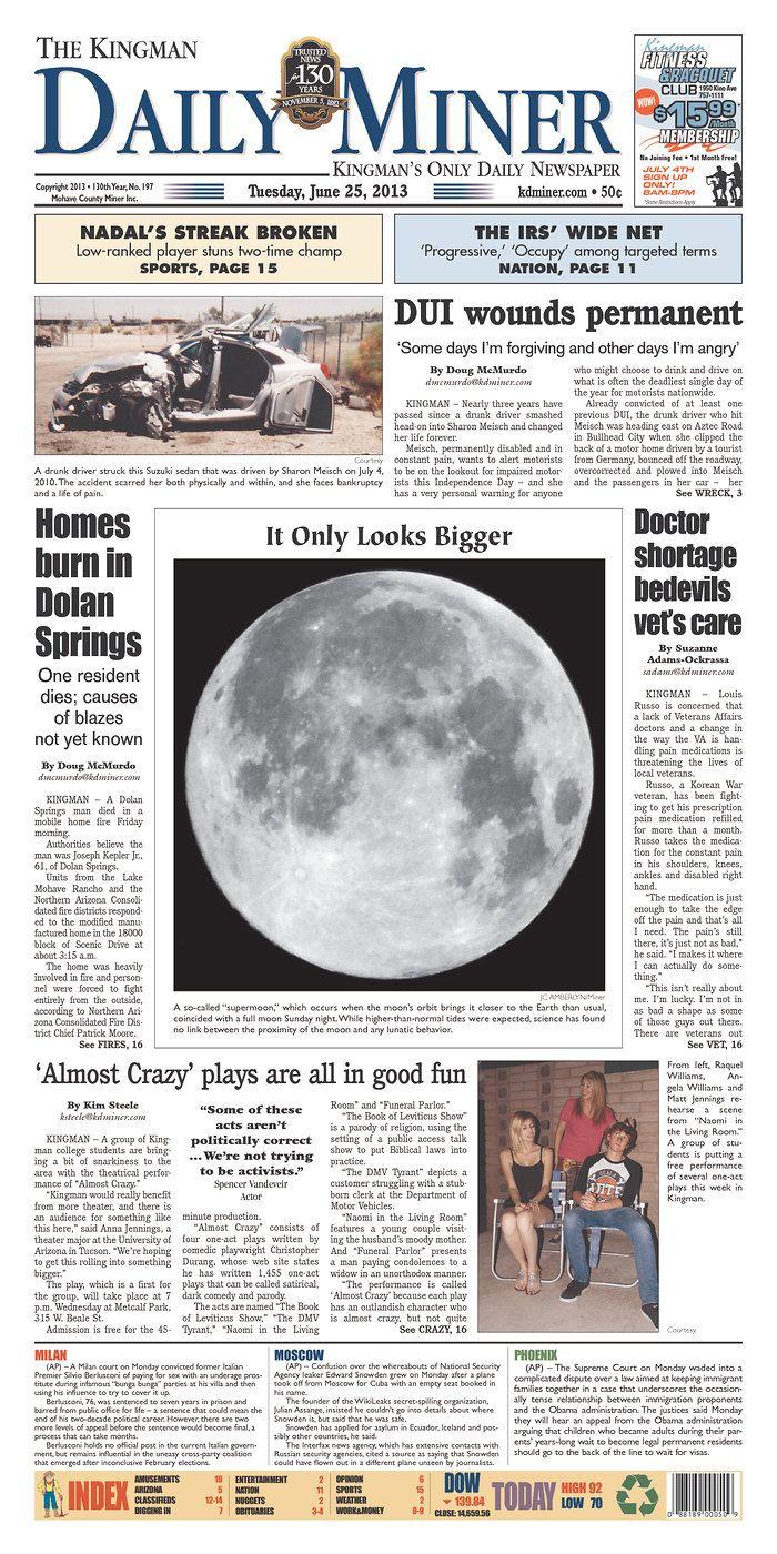 Naked justice in north Kingman | Kingman Daily Miner