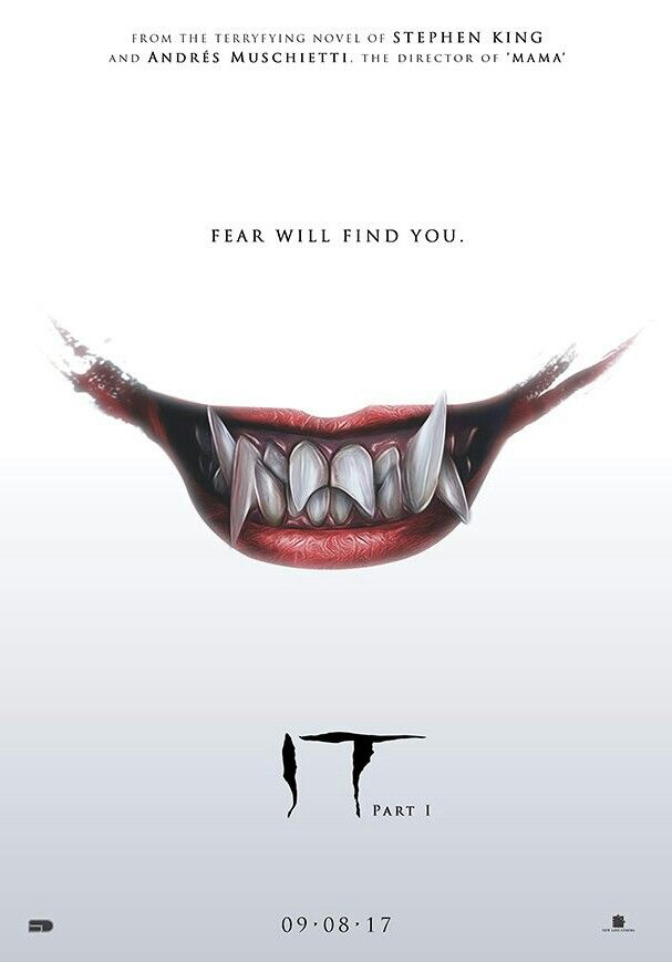 STEPHEN KINGS IT MOVIE POSTER