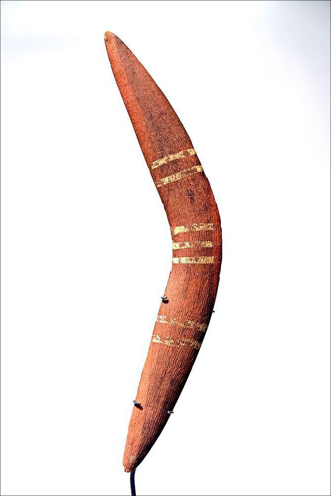 Australian Aboriginal Ceremonial BOOMERANG - Kimberley Region #Boomerangs