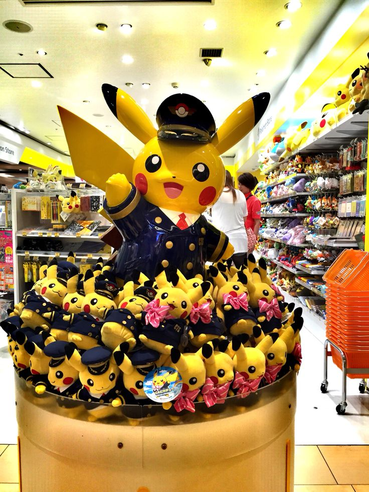 Captain Pikachu @ New Chitose Airport