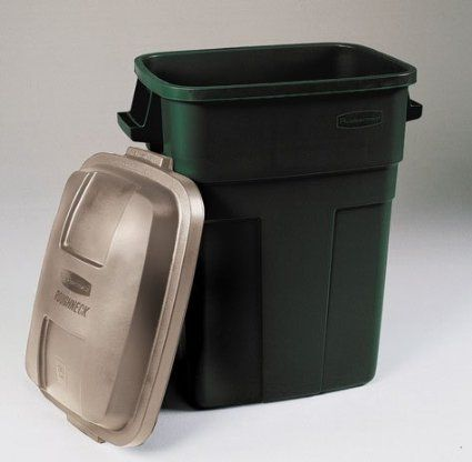 rubbermaid roughneck 30 gallon trash container outdoor trash cans lids u0026 carts ace hardware - Rubbermaid Garbage Cans