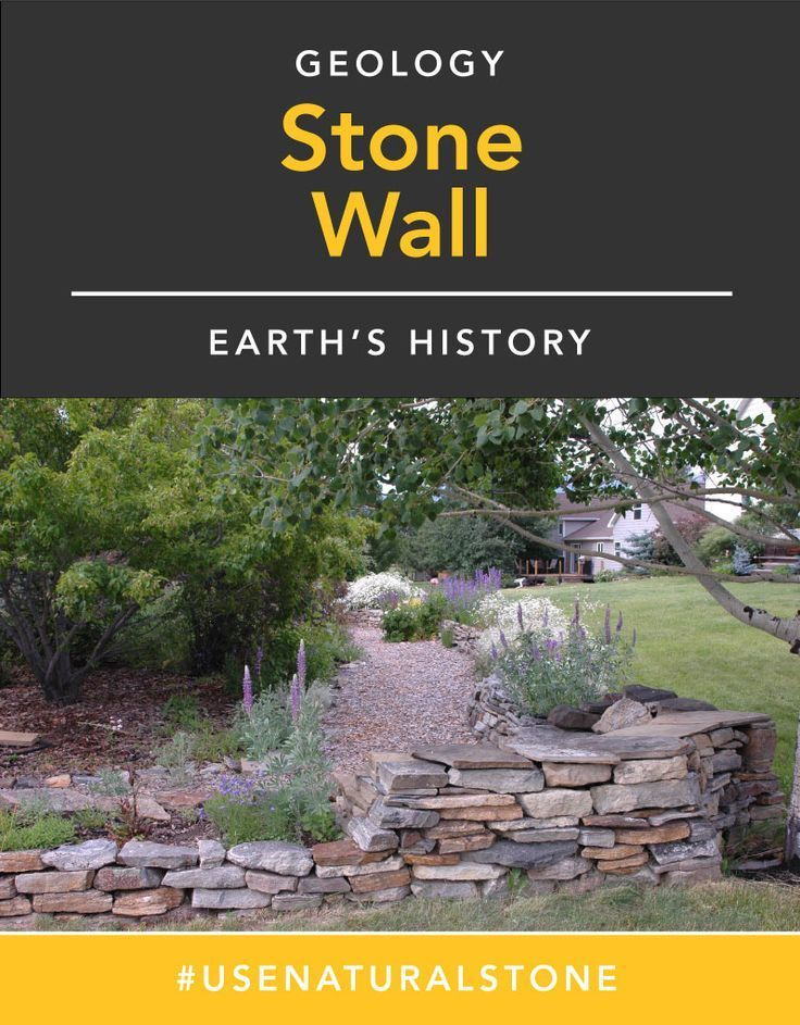 Building a stone wall to tell the story of your area.