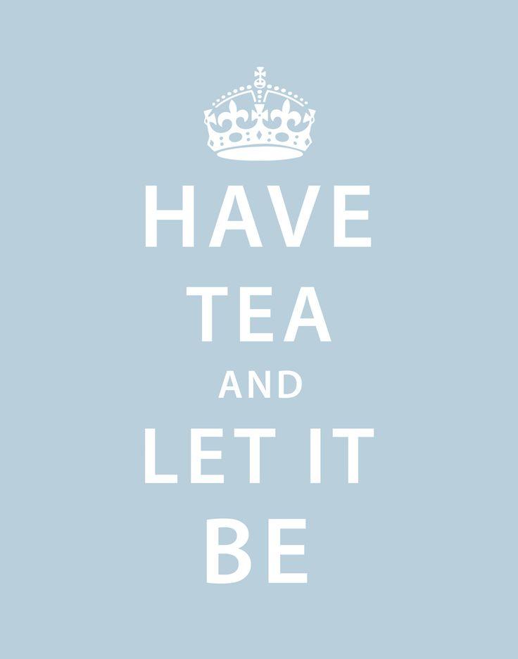 Have Tea Print