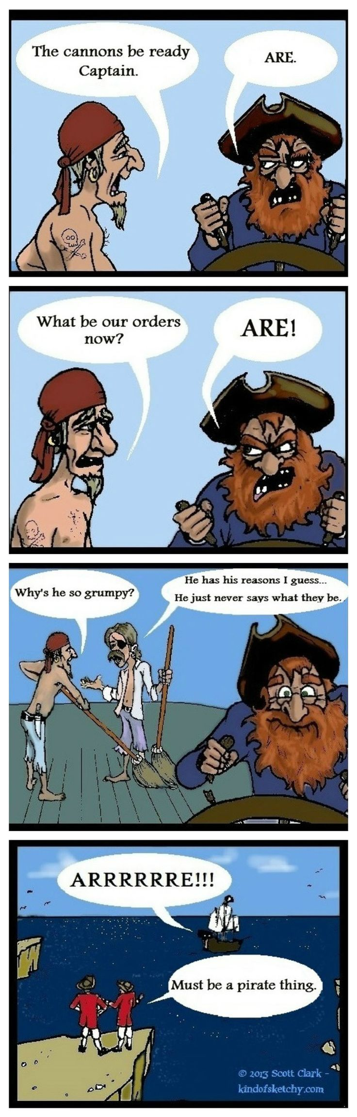 Grammar Pirate.  I LOVE this.  I am going to have this printed and put on the big blank spot on my wall :)