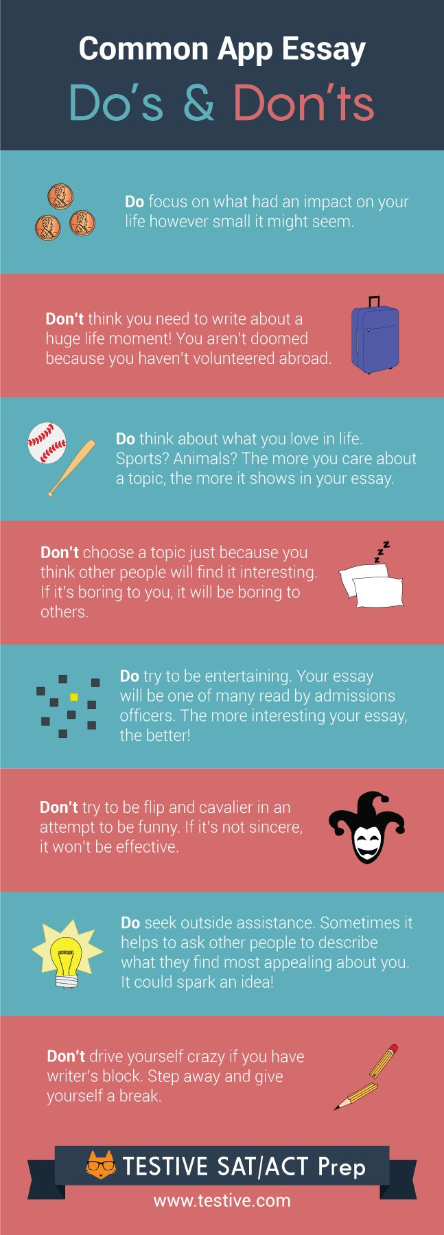 Working on your Common App personal statement? Here's some advice on what you should write about.