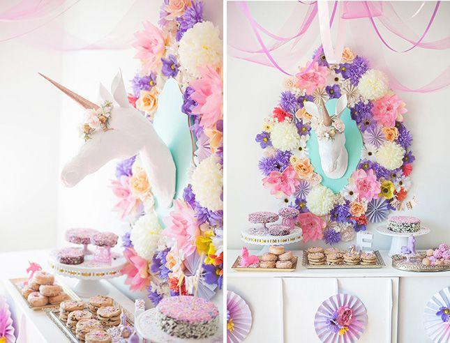 Decora la Fiesta de tu nena con mágicos unicornios                                                                                                                                                                                 Más