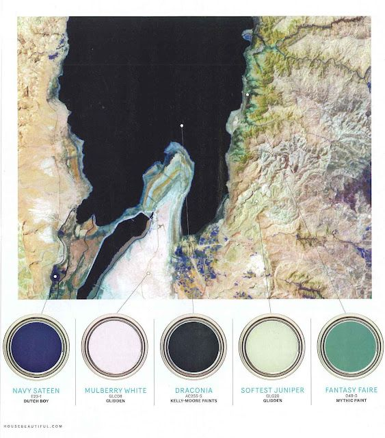 the HUNTED INTERIOR: A LITTLE COLOR TRENDING: BLUE TEAL GREEN: House Beautiful, Color Trending, Color Palettes, Color Inspiration, Paint Colors, Teal Green, Blue Teal
