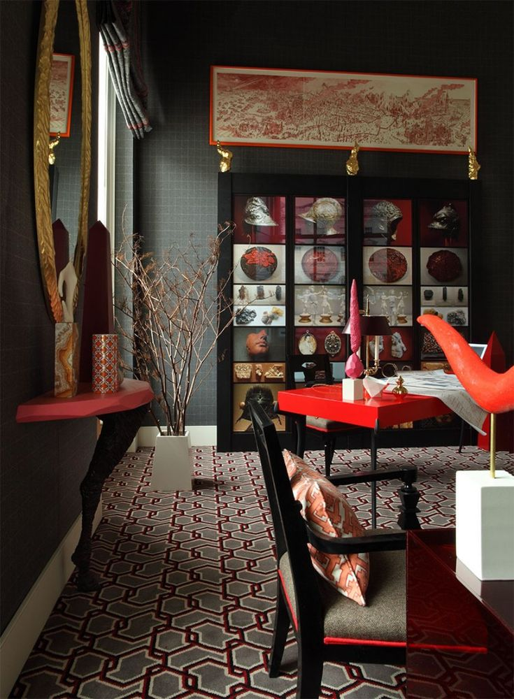 Metro Eclectic Interiors Ashley Hicks Gothic Glam Pinterest English Room And