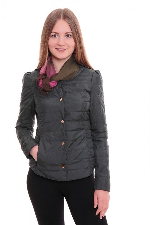 Куртка А5299 Размеры: 42-50 Цвет: серый Цена: 1875 руб.  http://optom24.ru/kurtka-a5299/  #одежда #женщинам #куртки #оптом24