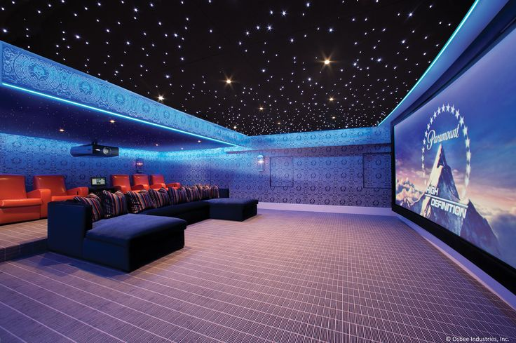 Home Theater by Osbee #JBL #crestron #numinus #digitalprojection