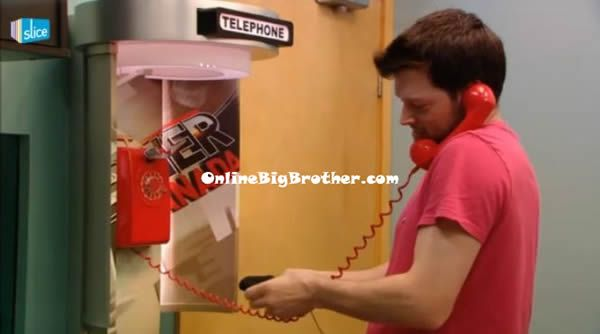Big Brother Canada: VIDEO - ANDREW ANSWERS THE TELEPHONE AND ACCEPTS A TASK!