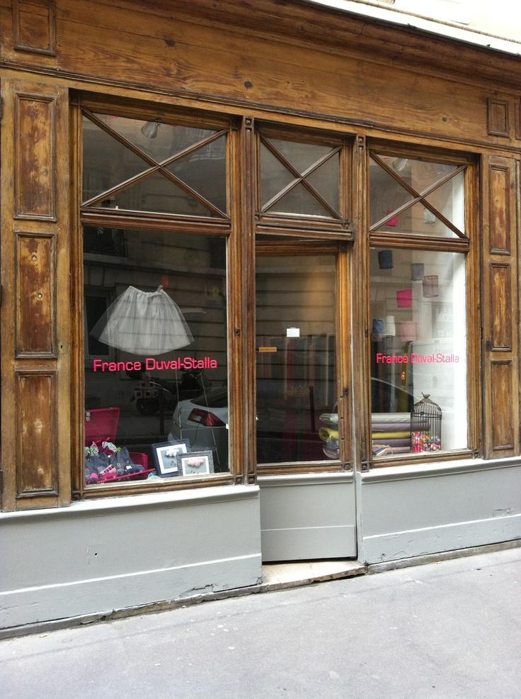 la boutique France Duval Stalla 4 rue du regard, Paris 6