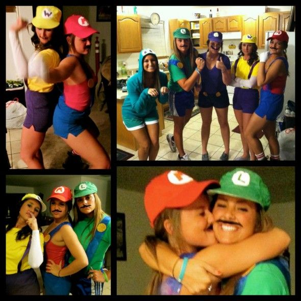 Group Costumes | Its no party if its not a Mario party. #tfm