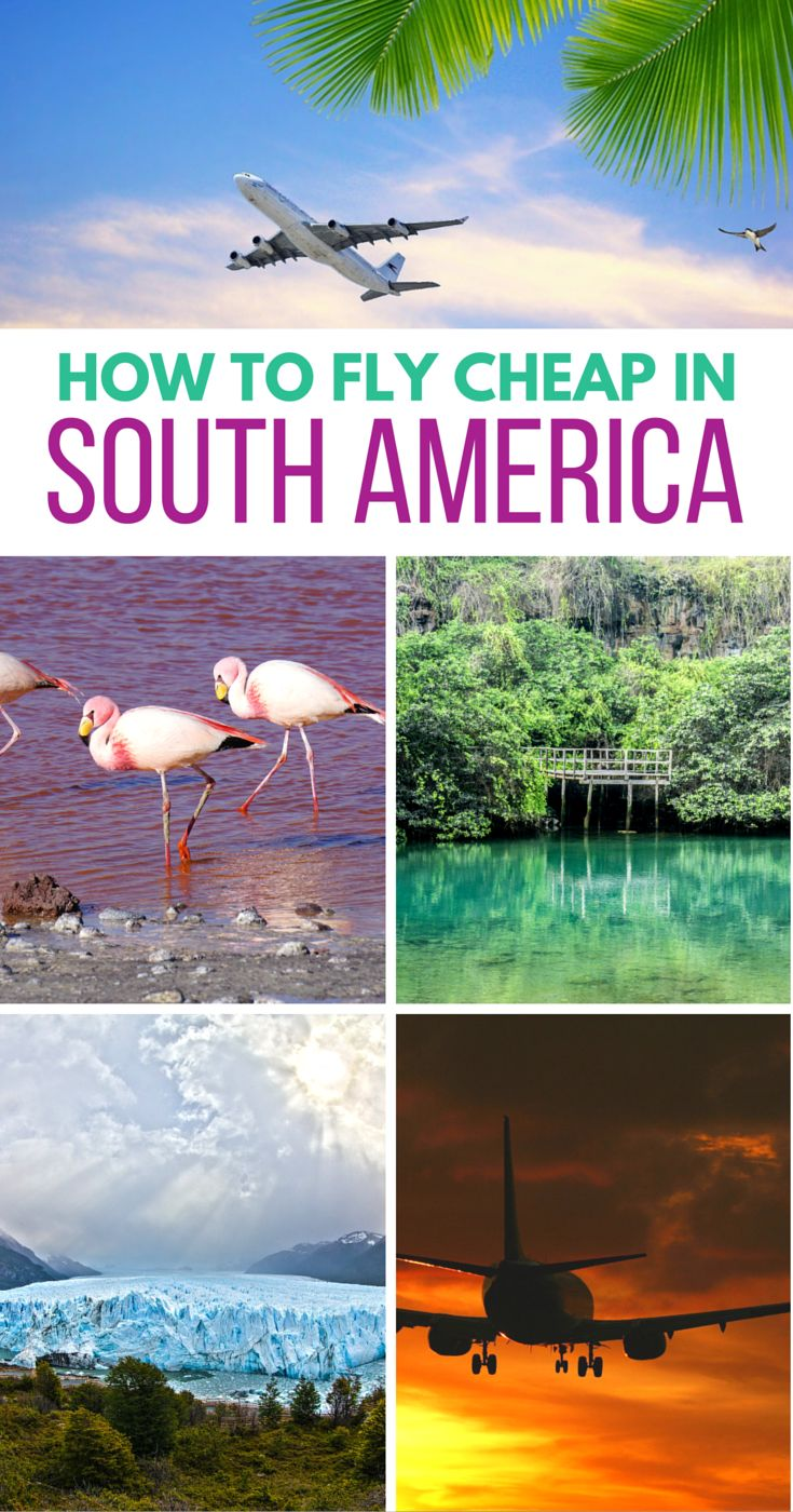 A guide to budget airlines & airline passes in South America. Even includes a FULL list of all the budget airlines in South America. Super handy! #southamerica