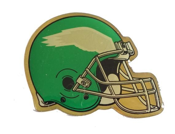 Philadelphia Eagles Helmet Logo Vintage Enamel Pin Badge Nfl Football Pa Pennsylvania By Vintagetr Philadelphia Eagles Helmet Philadelphia Eagles Eagles Helmet