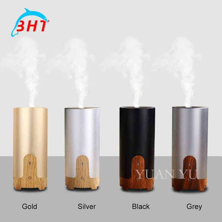 Car USB Diffuser Air Purifier Auto Oxygen Bar Ionizer Interior Decoration Freshener Remove Smoke Clean Air Humidifier Mist Maker