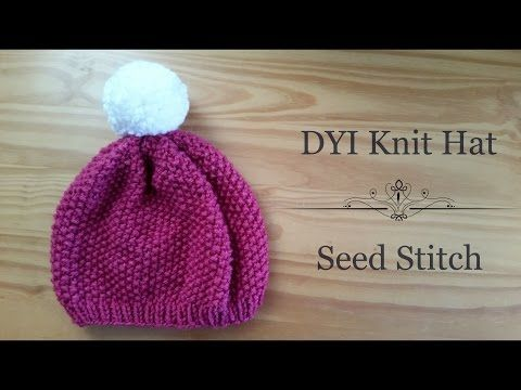 Seed Stitch Knitting By Judy : 1000+ images about KNiTTing Hats on Pinterest Beanie, Knits and Fair isles