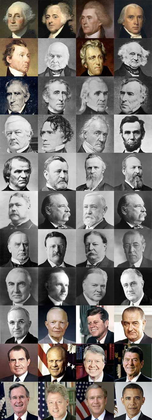 "This is the ""Time of Governments"" ...government control, government corruption, government wars -- but this time will pass. (pictures of United States Presidents)"