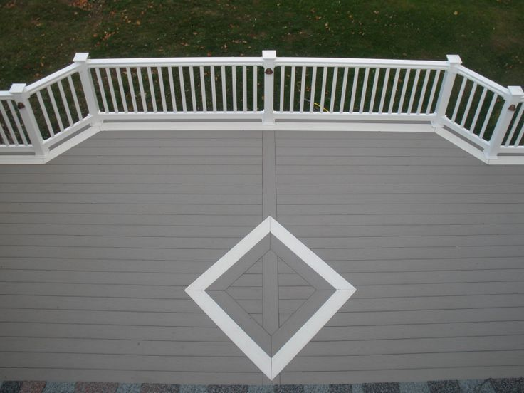 7 best images about decks on pinterest picture show the for White composite decking