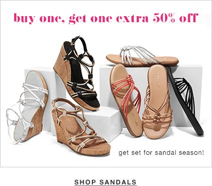 VIP Exclusive - Buy 1 Reg. Price Item, Get 50% Off 2nd Pair