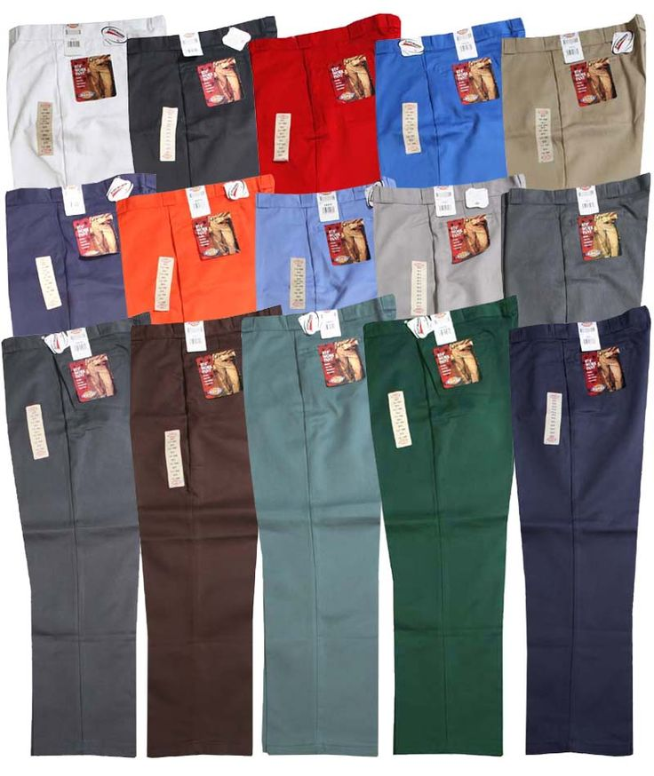 . Dickies dickies work pants 15 colors  i want them all