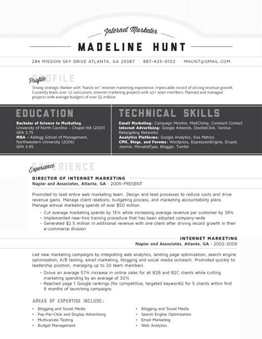 38 best Résumés images on Pinterest Board, Editorial design and - google drive resume template