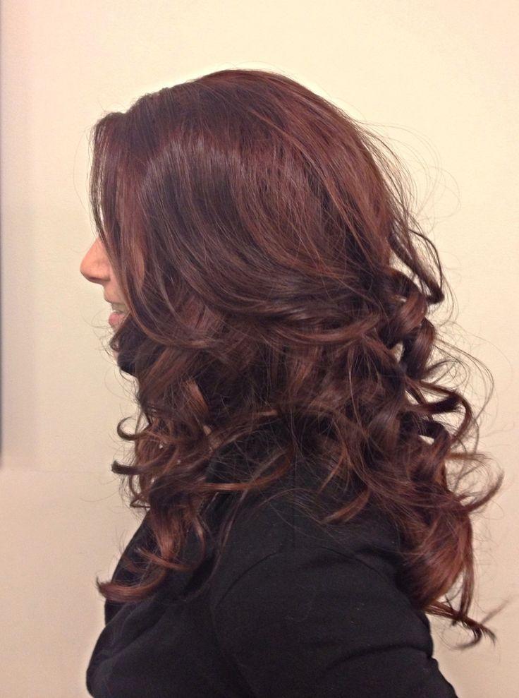 Pretty Sexy Curls #curly #hair #wedding #bridal #lexievhair