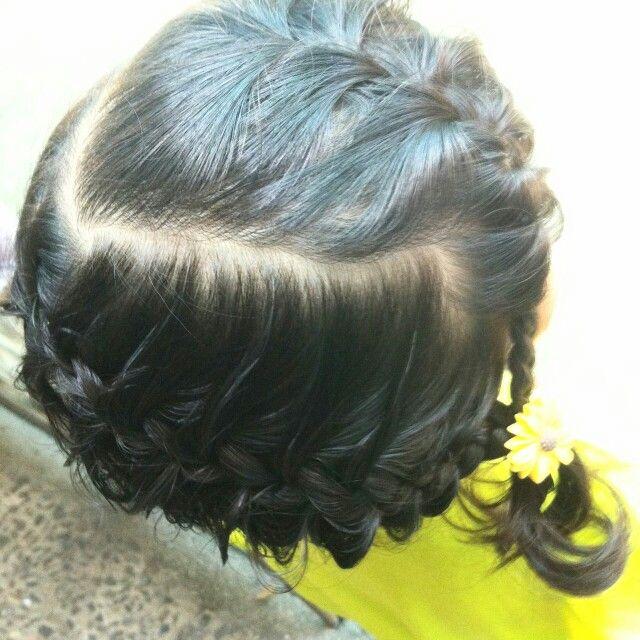 hairdoo  #kidshairstyle #hairstyle #hairdo #hairdoo #QaireenNR #babyqei